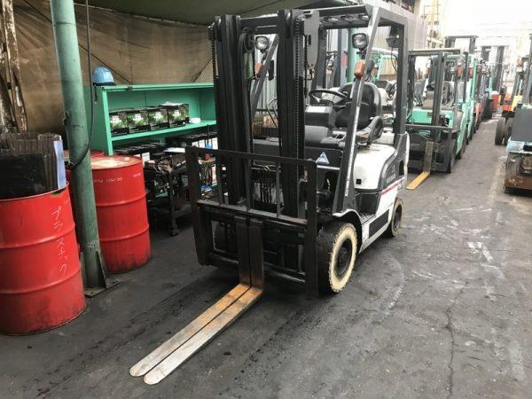 Газокар Nissan L01A15W 6